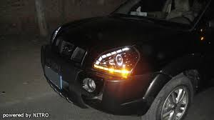 hyundai tucson 2007 accessories hyundai tucson halo projector headlights page 6 tucsondrivers com