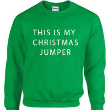 this is my sweater this is my jumper mens joke sweatshirt gift