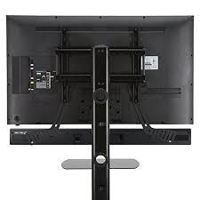 Sound Bar On Top Or Below Tv Fitueyes Universal Sound Bar Bracket Mount Above Or Below Tv
