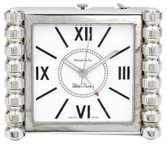 Colorado Travel Clock images Tiffany co silver paloma picasso groove quartz alarm travel jpg