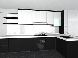 home kitchen interior design black white kitchens project awesome black and white kitchen
