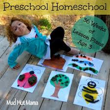 36 week preschool curriculum not necessarily to homeschool but
