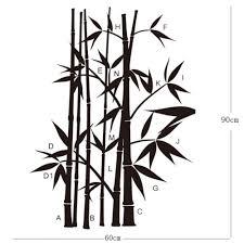 bamboo wall sticker wallstickerscool com au wall decals vinyl bamboo wall sticker bamboo wall sticker