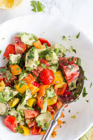 avocado bell pepper salad wholefully