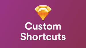 creating custom shortcuts on sketch 3 youtube