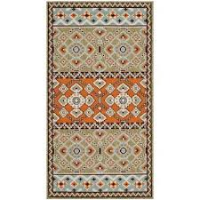 3 X 5 Indoor Outdoor Rugs Orange 3 X 5 Outdoor Rugs Rugs The Home Depot