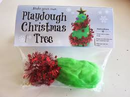 Homemade Christmas Presents by Learn With Play At Home Diy Chistmas Tree Playdough Gift Bags