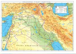 Middle East Map Labeled by Middle East Physical Map Labeled