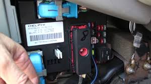 05 chevy malibu fuse box locations youtube