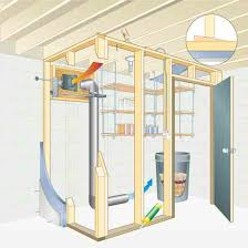 Best Way To Insulate Basement Walls by Build A Basement Root Cellar Diy Mother Earth News
