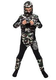 boy u0027s camo ninja costume