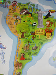 aliexpress com buy large cartoon world map wall stickers for