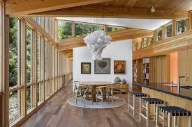 cottage design corridor with wooden floor in modern cottage design