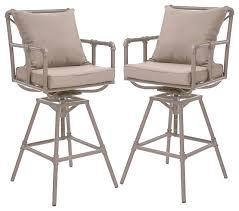 out door bar stools elegant outdoor swivel bar stool tallahassee outdoor adjustable