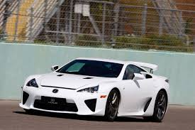 lexus sport car lfa you can still buy a brand new never driven lexus lfa autoguide