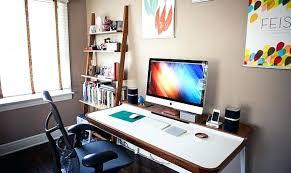 Modern Minimalist Computer Desk Minimalist Office Design Idea U2013 Mentform Com