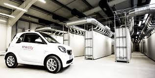 smart car mercedes benz builds impressive energy storage facility using