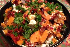 thanksgiving celebrations rustic yam salad u2013 exceptional ea in the kitchen exceptional ea