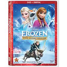 frozen blu ray dvd digital hd disney frozen