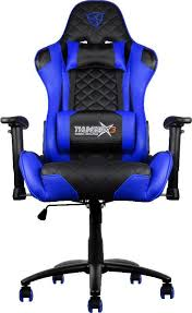 Blue Computer Chair Thunderx3 Tgc12 Gaming Black Blue Computer Chair Tgc12 Bb