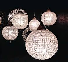Diy Ball Chandelier Crystal Ball For Chandelier And Parts Roselawnlutheran With 120