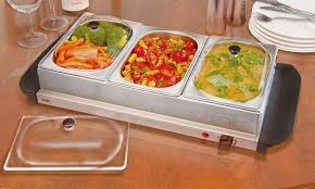 cooks professional warming tray groupon goods