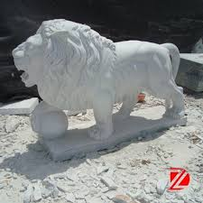 marble lions marble lion sculpture with outdoor statues buy marble