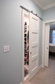 Bypass Closet Doors Captivating Barn Style Sliding Closet Doors 49 For Your Best