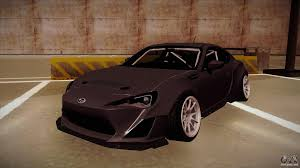 rocket bunny subaru forester subaru brz for gta san andreas u2014 page 1