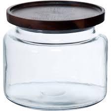 better homes and gardens medium acacia wood top jar walmart com