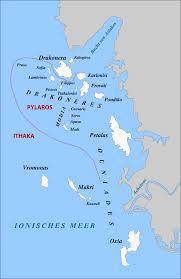 Greek Islands Map Echinades Wikipedia
