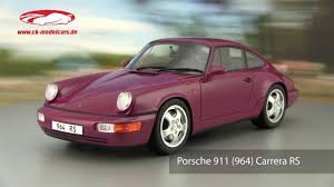 porsche 964 ck modelcars video porsche 964 carrera rs gt spirit youtube