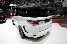 modified 2015 range rover geneva 2014 hamann mirr6r u0026 range rover sport