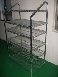 Metal Wire Shelving by Stainless Steel Wire Mesh Shelves Plastic Coated Wire Shelving