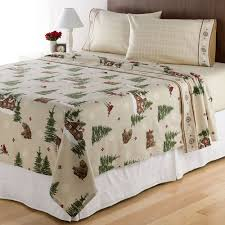 home classics lodge flannel sheet set creative inspiration