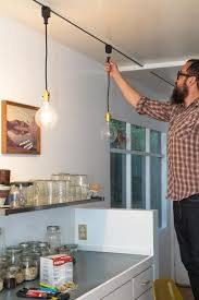 Track Lighting Pendants Say Goodbye To Dated Track Lighting With This Easy Diy Pendant