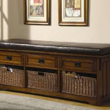 Black Entryway Bench Entryway Bench With Shoe Storage Baskets And Attractive Entryway