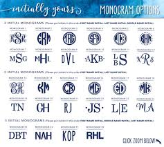 initials monogram personalized monogram vinyl decal diy vinyl stickers initials