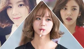 hong kong stars with bob haircuts korean actress on kpopmap