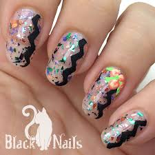 mardi gras nail mardi gras flowers sinful colors mystery moonshine black cat nails