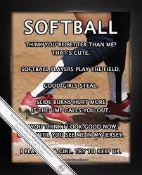 softball player base 8x10 sport poster print softball players