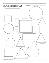 downloadable geometry worksheets for 1st graders geometry