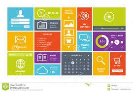 windows 8 designs windows 8 modern ui design layout stock image image 32844531