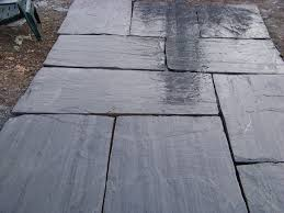 Slate Patio Pavers Slate Pavers Don T Forget Garden Patio Paving Don T Forget Grey