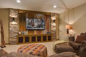 Finishing Basement Ideas 26 Charming And Bright Finished Basement Designs Page 3 Of 5