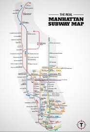 manhattan neighborhoods map a manhattan subway map based on judgmental generalizations about