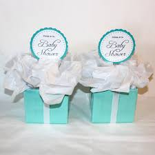 2 centerpieces tiffany co inspired box tiffany blue and white