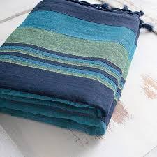 couverture de canapé dessus de lit en coton couvertures indiennes par pankaj e boutique