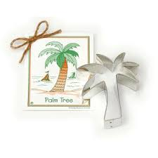 traditional palm tree cookie cutter clark