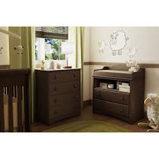 nightstand and dressers 4 drawer child bedroom chest in espresso finish great for nursery